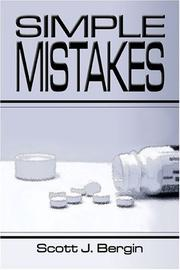 Cover of: Simple Mistakes | Scott J. Bergin