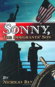 Cover of: Sonny, the Immigrants' Son