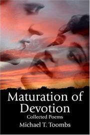 Cover of: Maturation of Devotion | Michael T. Toombs
