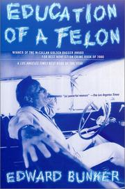 Cover of: Education of a Felon