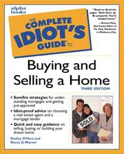Cover of: The complete idiot's guide to buying and selling a home