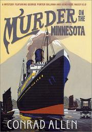 Cover of: Murder on the Minnesota