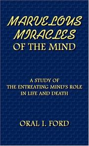 Cover of: MARVELOUS MIRACLES OF THE MIND | Oral I. Ford