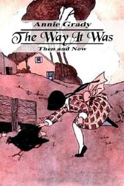 Cover of: The Way It Was | Annie Grady