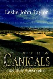 Cover of: Extra Canicals
