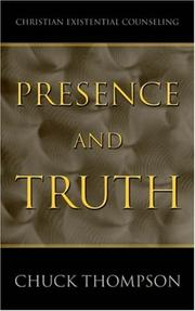 Cover of: Presence and Truth