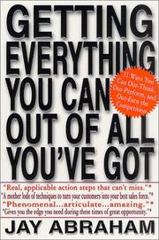 Cover of: Getting everything you can out of all you've got