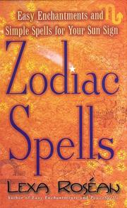 Cover of: Zodiac Spells
