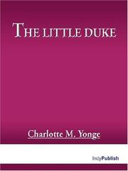 Cover of: The Little Duke