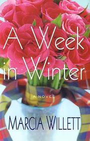 Cover of: A week in winter: A Novel