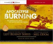 Cover of: Apocalypse Burning (Left Behind - Tekno Military)