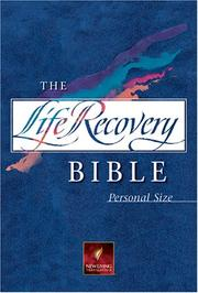Cover of: The Life Recovery Bible Personal Size NLT (Personal Size Nlt) | Stephen Arterburn
