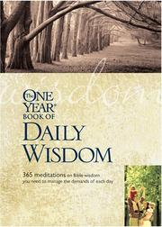 Cover of: The One Year Book of Daily Wisdom | Neil S. Wilson