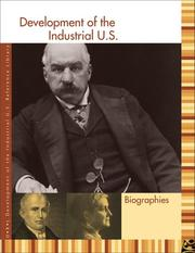 Cover of: Development of the Industrial U.S. | Sonia Benson