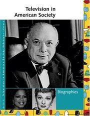 Cover of: Television in American Society | Laurie Collier Hillstrom