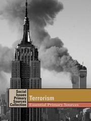 Cover of: Terrorism: Essential Primary Sources (Social Issues Primary Sources: Terrorism) |