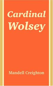 Cover of: Cardinal Wolsey