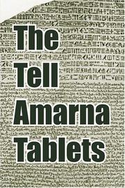 Cover of: The Tell Amarna Tablets