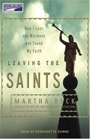 Cover of: Leaving the Saints | Martha Beck