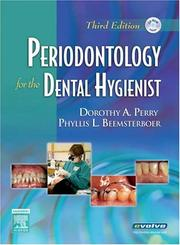 Cover of: Periodontology for the Dental Hygienist | Dorothy A. Perry