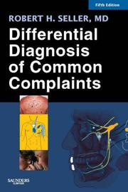 Cover of: Differential Diagnosis of Common Complaints (Differential Diagnosis of Common Complaints (Seller))