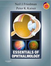 Cover of: Essentials of ophthalmology