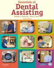 Cover of: Essentials of Dental Assisting | Debbie S. Robinson