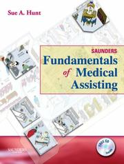 Cover of: Saunders Fundamentals of Medical Assisting | Sue Hunt