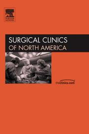 Cover of: Current Management of Inflammatory Bowel Disease, An Issue of Surgical Clinics