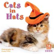 Cover of: Cats in Hats 2008 Wall Calendar