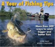 Cover of: A Year of Fishing Tips 2008 Daily Box Calendar
