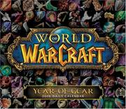 Cover of: World of Warcraft 2008 Daily Boxed Calendar
