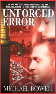 Cover of: Unforced Error