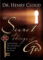 Cover of: The Secret Things of God