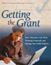 Cover of: Getting the Grant