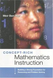 Cover of: Concept-Rich Mathematics Instruction