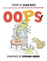 Cover of: Oops! | Alan Katz