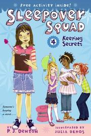 Cover of: Keeping Secrets (Sleepover Squad)