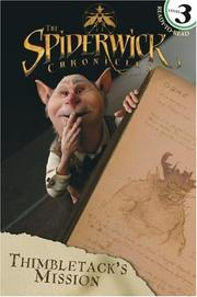 Cover of: Thimbletack's Mission (Spiderwick Chronicles, the)