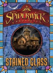 Cover of: Spiderwick Stained Glass Book (Spiderwick Chronicles, the)