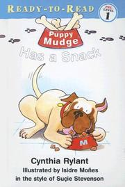 Cover of: Puppy Mudge Has a Snack (Puppy Mudge)