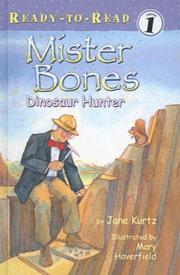 Cover of: Mister Bones: Dinosaur Hunter