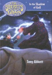 Cover of: In the Shadow of Goll (Secrets of Droon (Tandem Library))