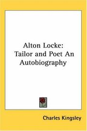 Alton Locke by Charles Kingsley