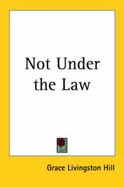 Cover of: Not under the law