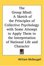 Cover of: The group mind