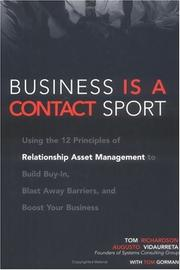 Cover of: Business Is a Contact Sport | Tom Richardson