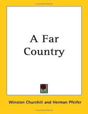 Cover of: A Far Country