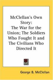Cover of: McClellan's Own Story