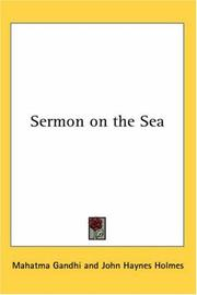 Cover of: Sermon on the Sea | Mohandas Karamchand Gandhi